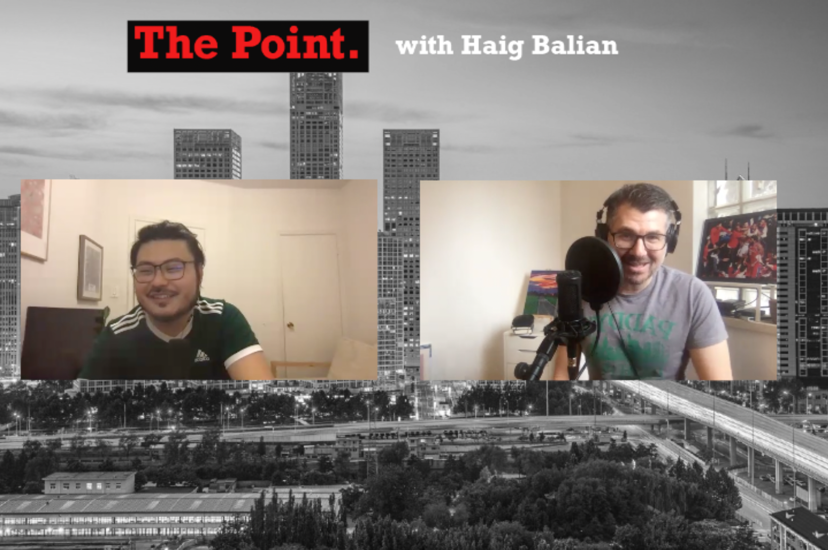 William Lou: Tianjin, Basketball, Toronto Raptors, an interview by Haig Balian