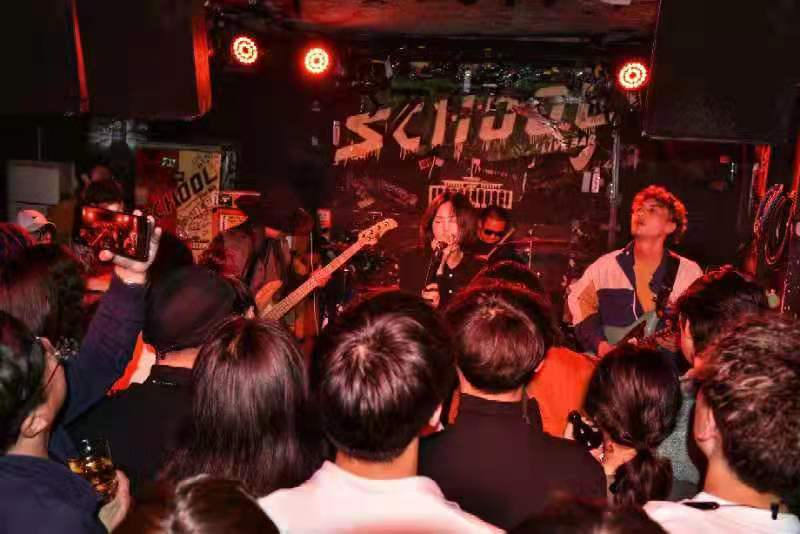 HAHA Master at School Bar in Beijing, show recap.